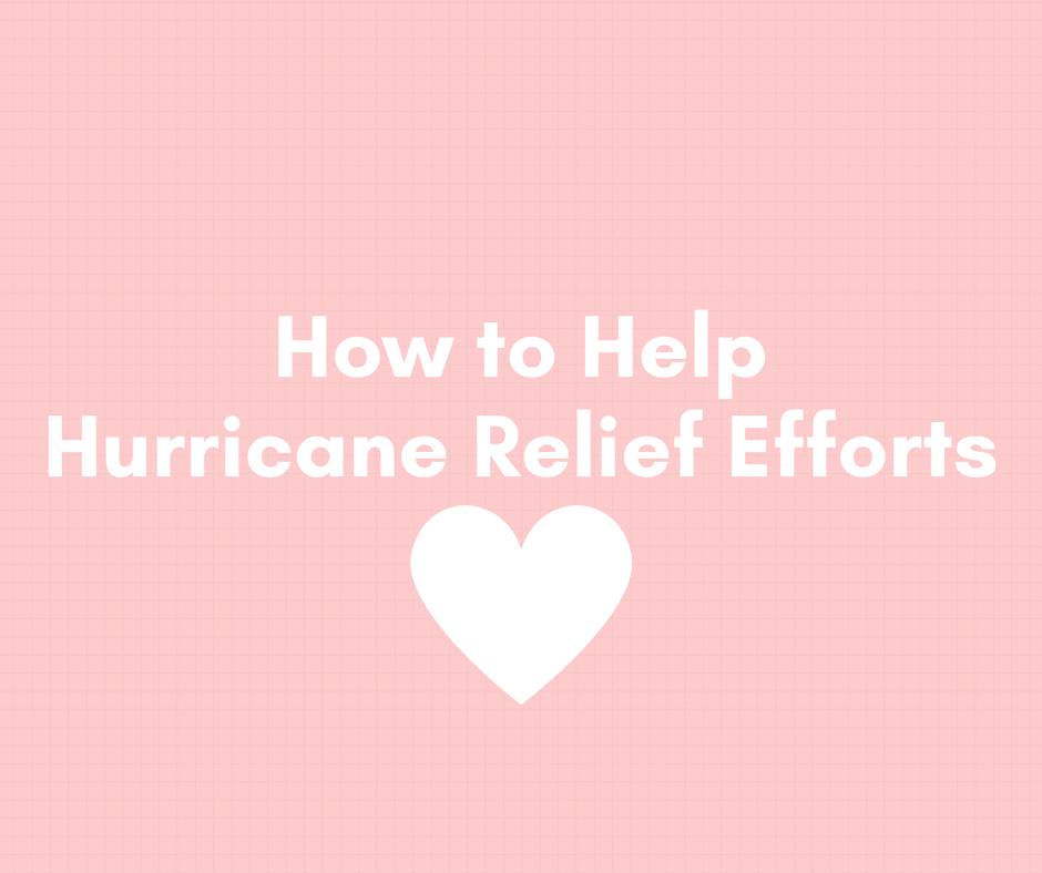 How to Help Hurricane Relief Efforts