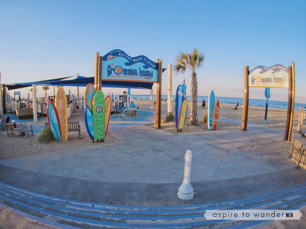 Grommet Island Playground Virginia Beach