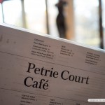 Lunch at Petrie Court Café at the Metropolitan Museum of Art