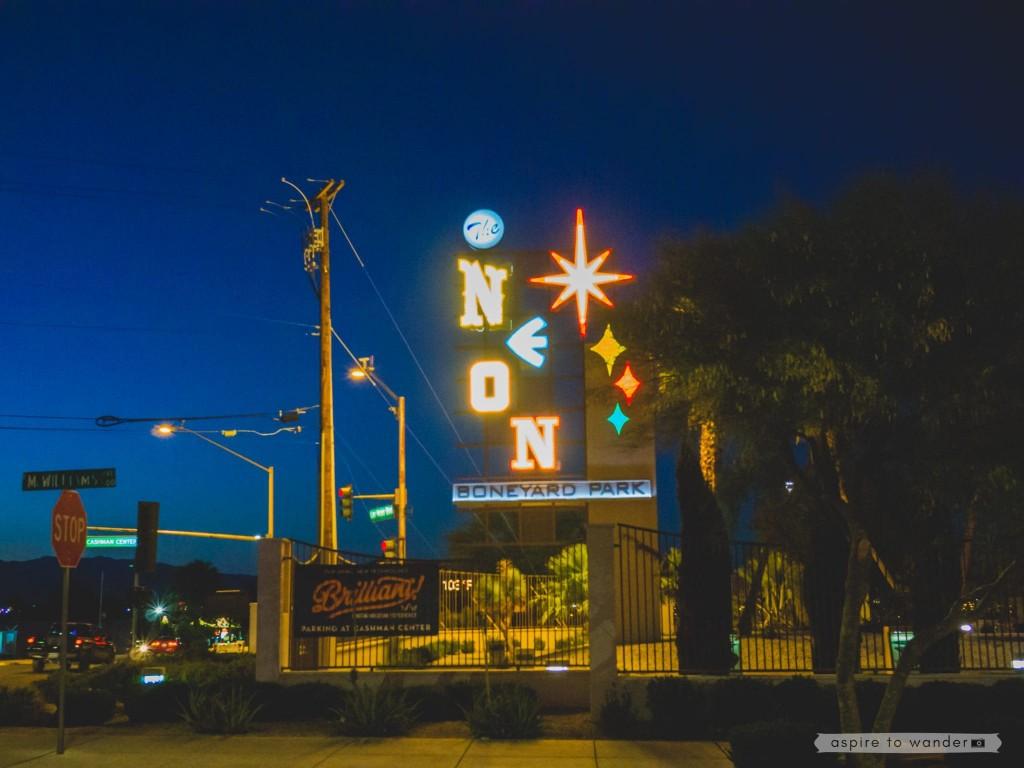 The Neon Boneyard aka the Neon Museum, Las Vegas