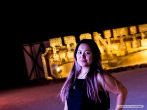 Me! at the Neon Boneyard aka the Neon Museum in Las Vegas
