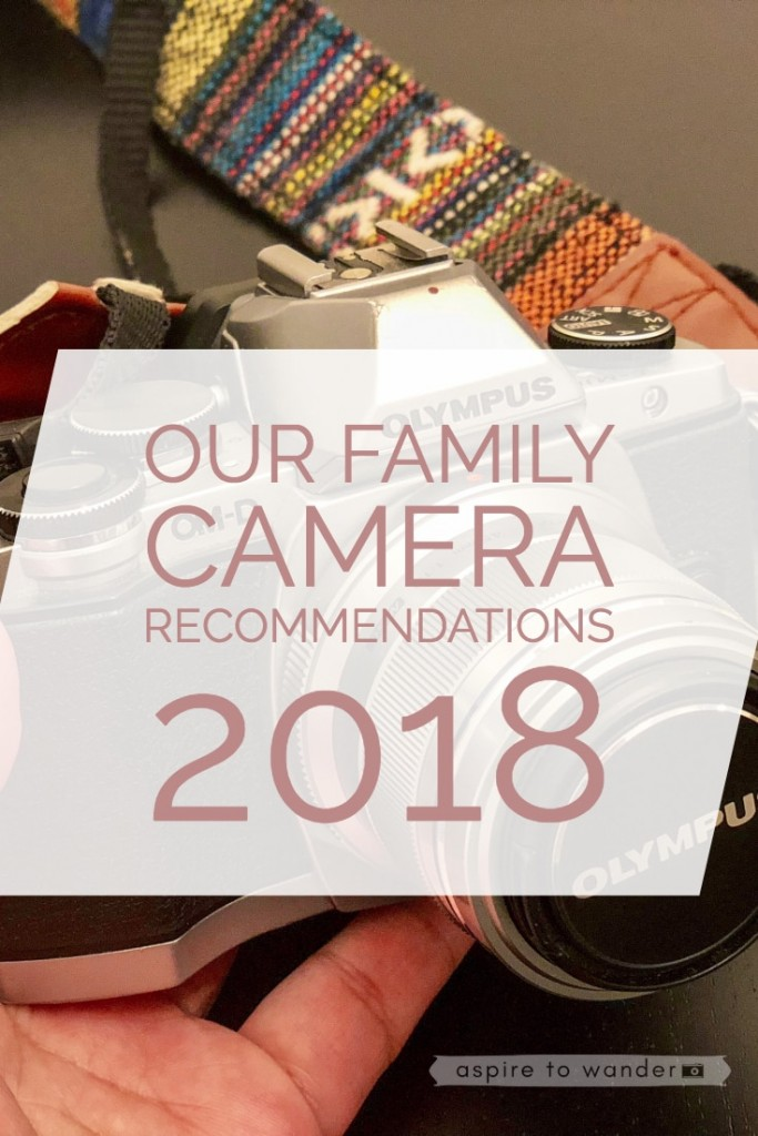 Our Family Camera Recommendations for 2018