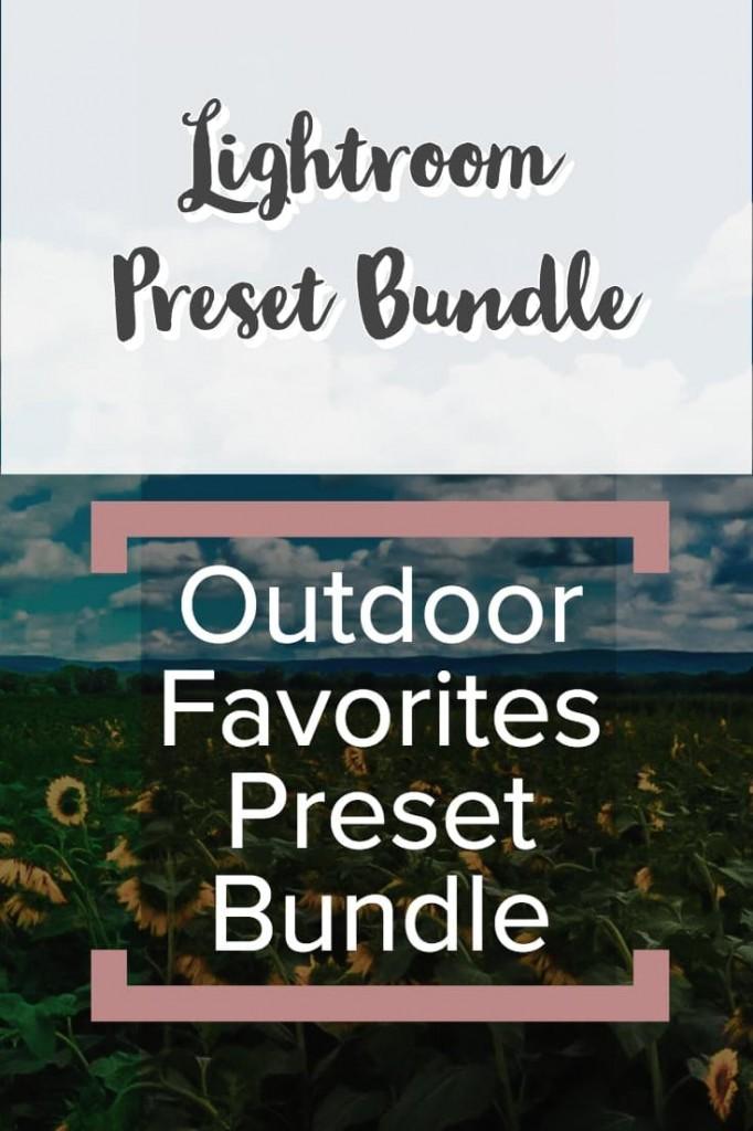Lightroom Preset Bundle - Outdoor Favorites