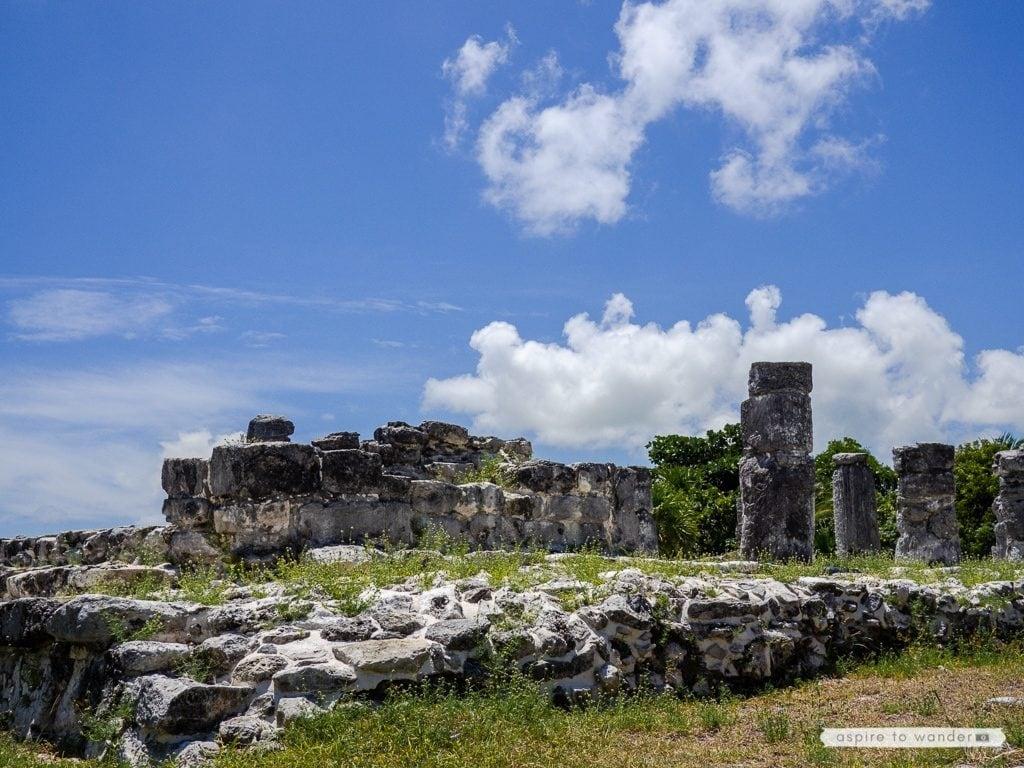 Mayan ruins in Cancun - El Rey