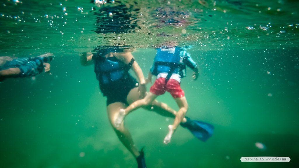 Riviera Maya snorkeling at Xel-Ha