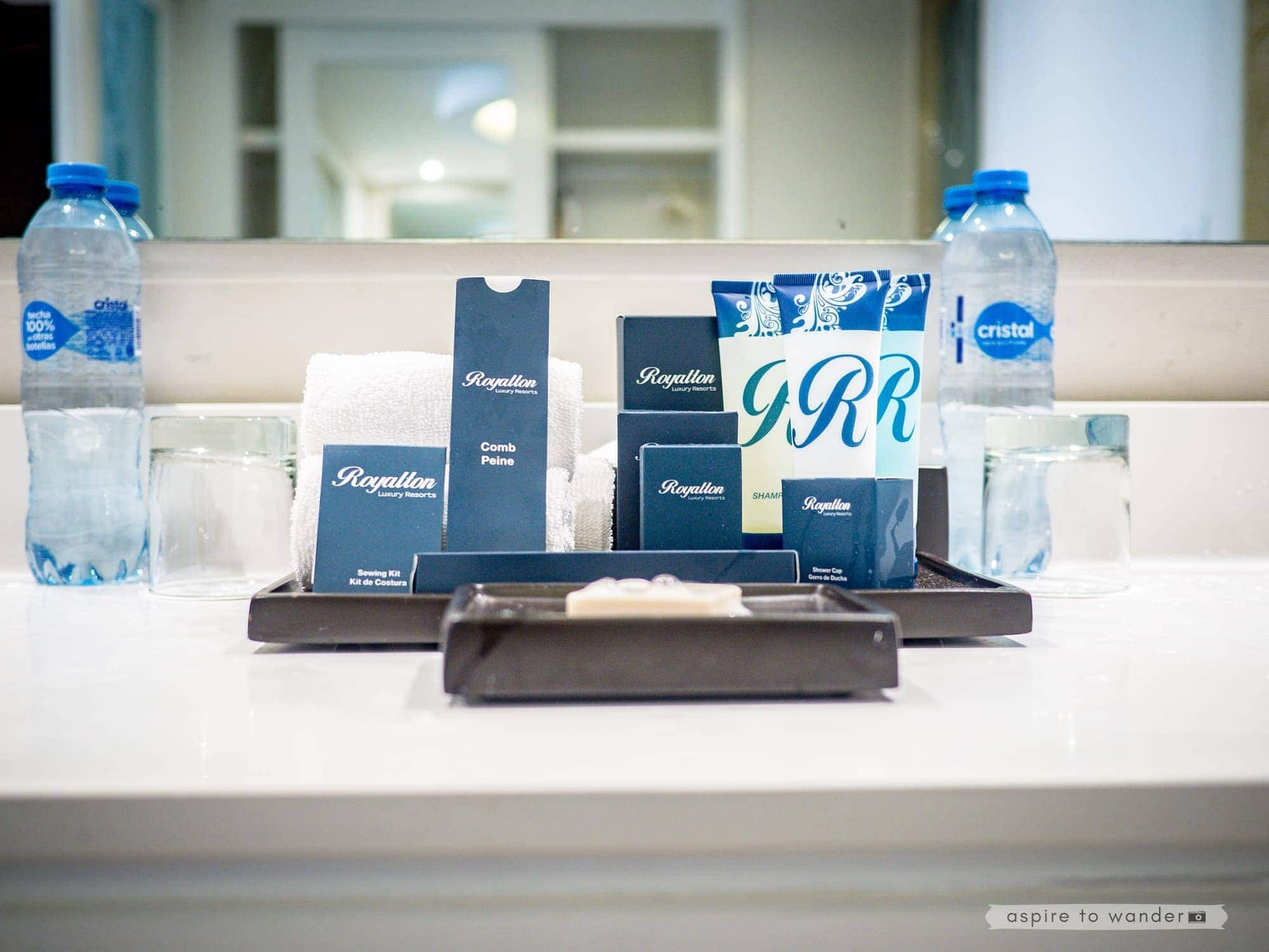 Royalton Riviera Cancun Resort and Spa - Complimentary Toiletries