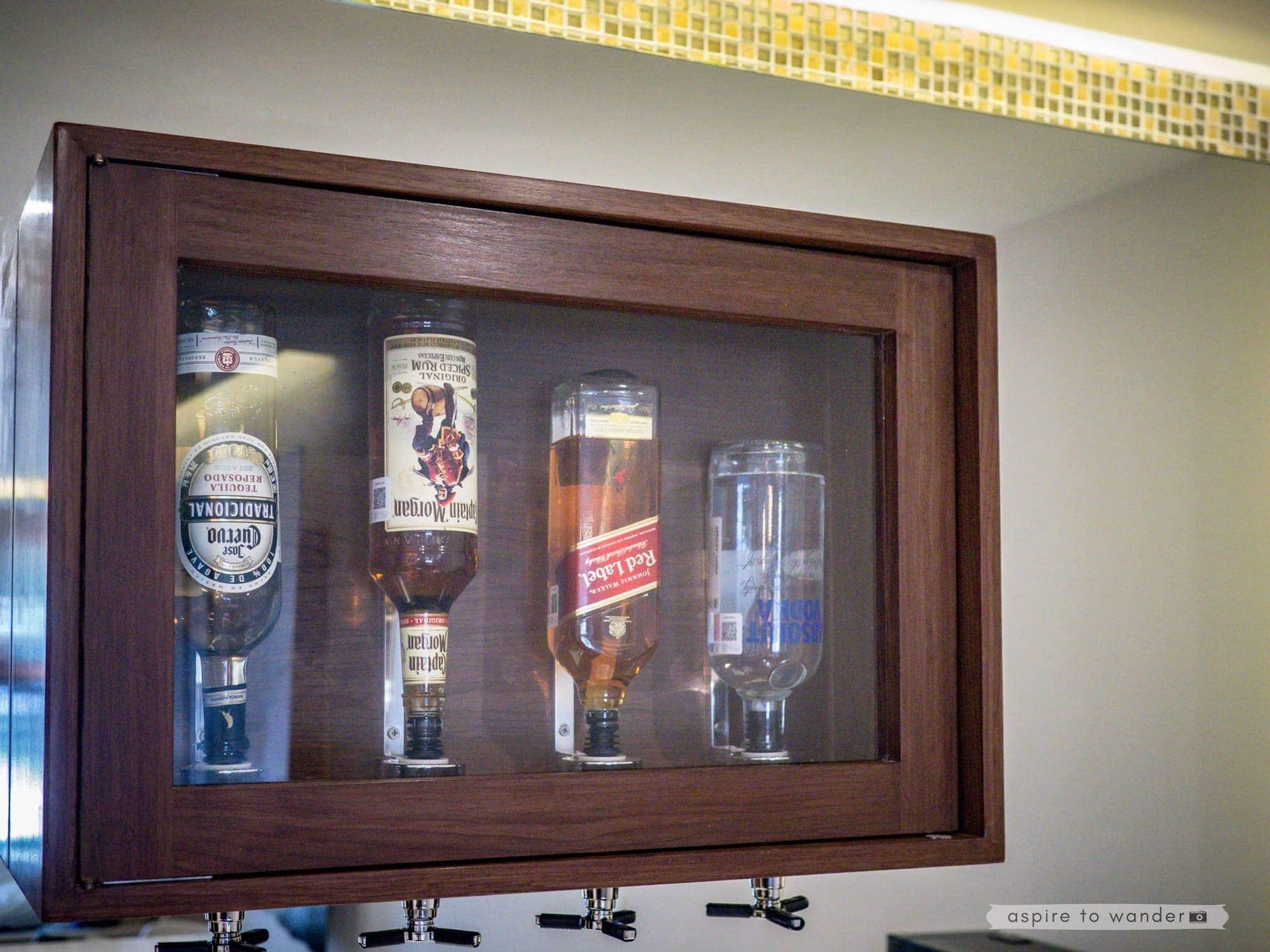 Royalton Riviera Cancun - in-room liquor dispensers