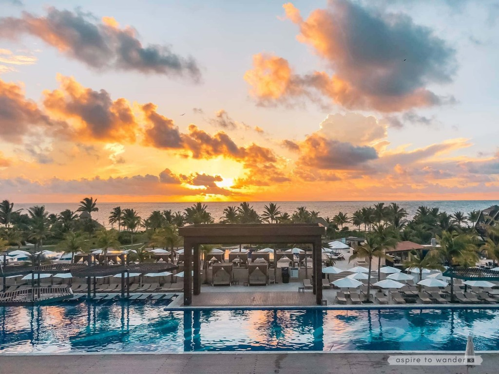 Sunrise at Royalton Riviera Cancun Resort and Spa - Mexico