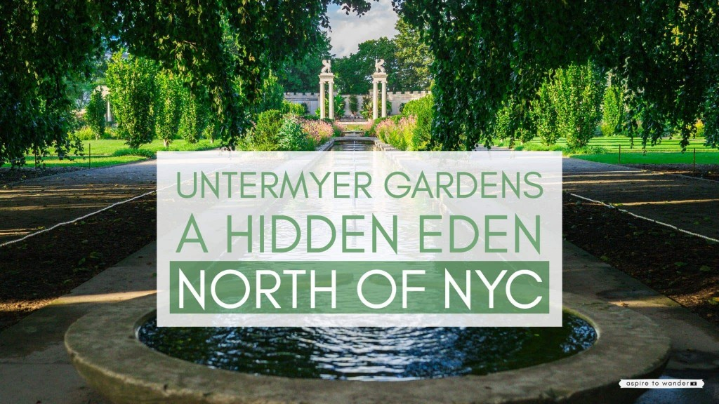 Visit Untermyer Gardens in Yonkers New York