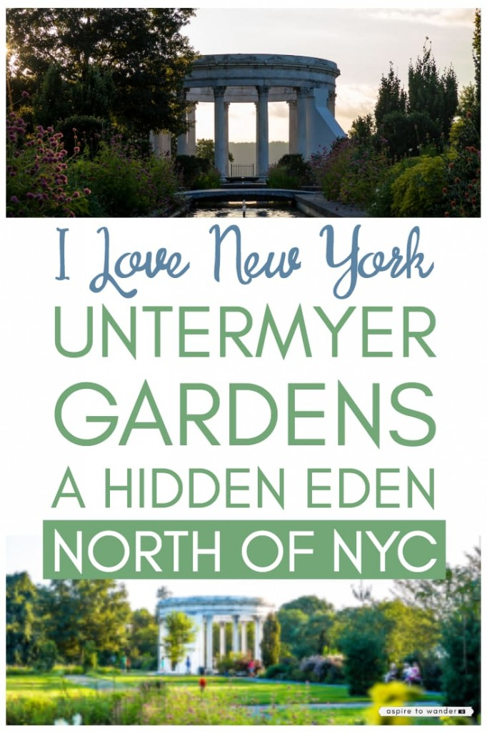 NYC day trip - Untermyer Gardens in Yonkers