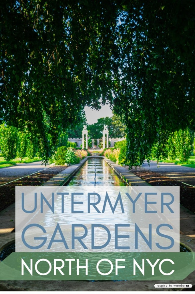 NYC day trip - Untermyer Gardens in Westchester
