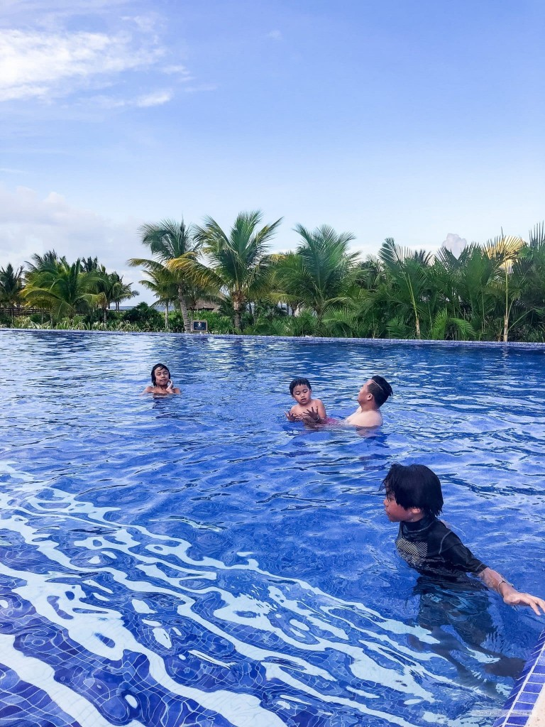 family fun at the Royalton Riviera Cancun Resort and Spa
