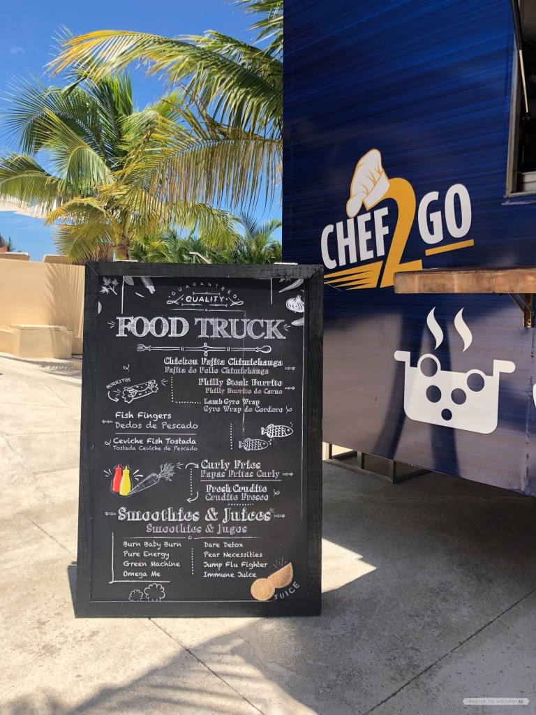 Royalton Riviera Cancun - food truck