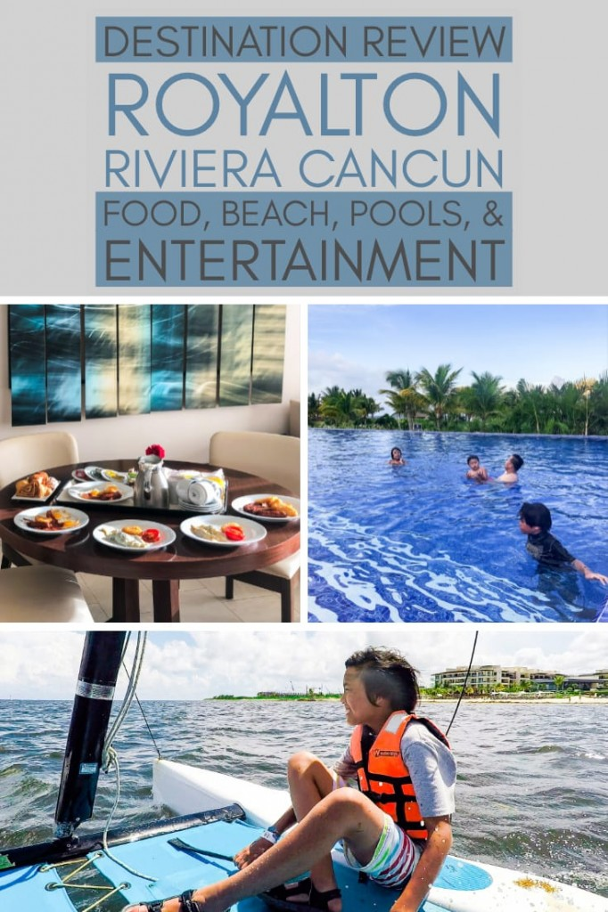 Royalton Riviera Cancún Resort and Spa: Read about the food, beach, pools, and entertainment at this luxury all-inclusive resort in the Riviera Maya, Mexico!