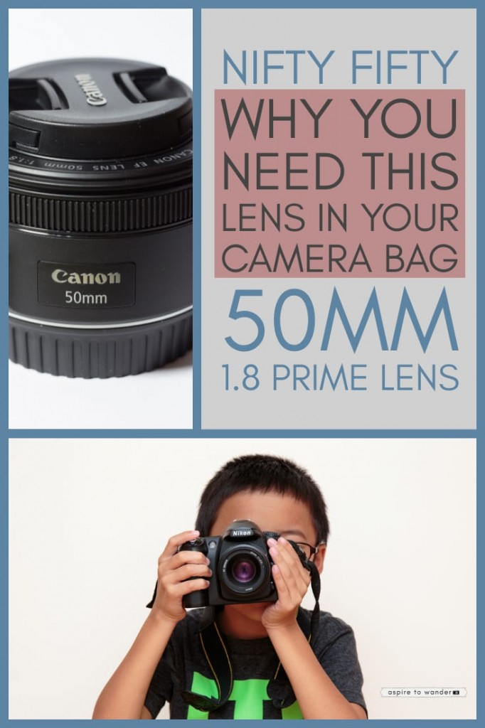 Why you need a nifty fifty 50mm lens