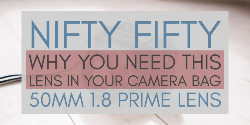 Are you a new photographer? Here's why the nifty fifty 50mm f1.8 lens is a must-have prime