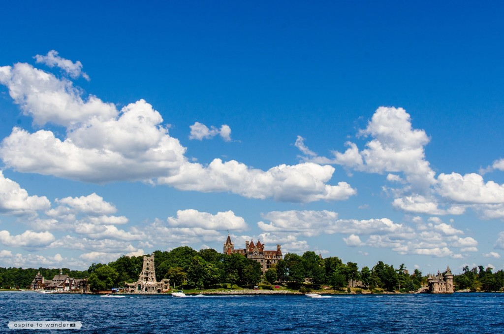 Boldt Castle on Heart Island in the Thousand Islands | St. Lawrence River