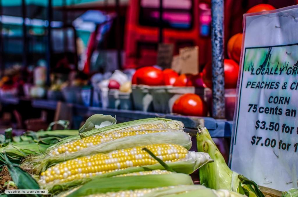 Thousand Islands - Kingston, Ontario farmers market
