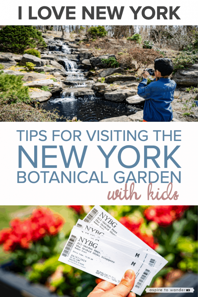 Visiting the New York Botanical Garden with Kids