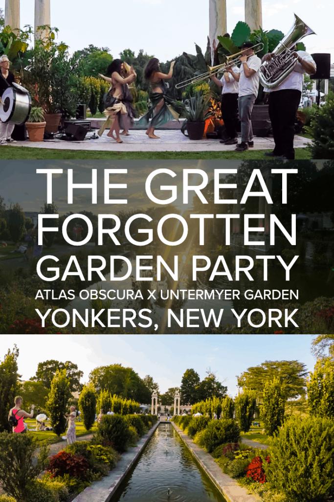 Great Forgotten Garden Party | Atlas Obscura | Untermyer Garden