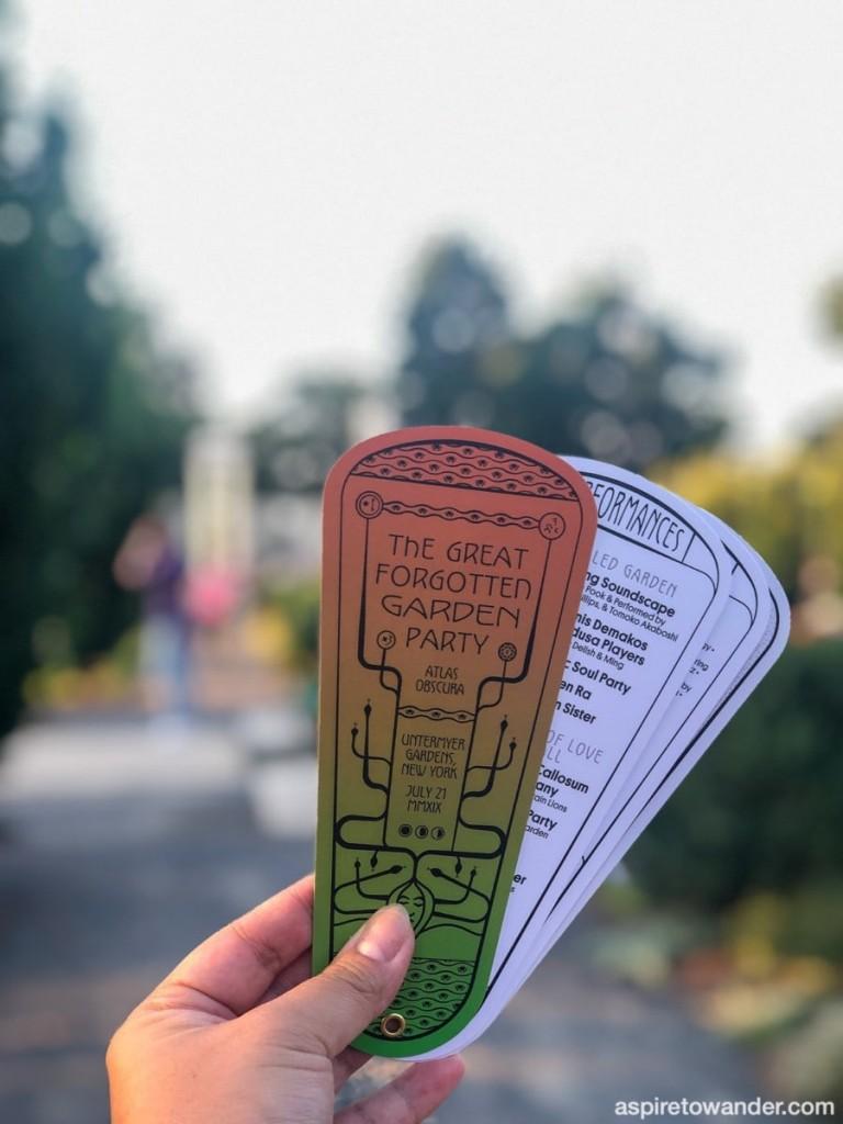 The Great Forgotten Garden Party 2019   Atlas Obscura   Untermyer Garden