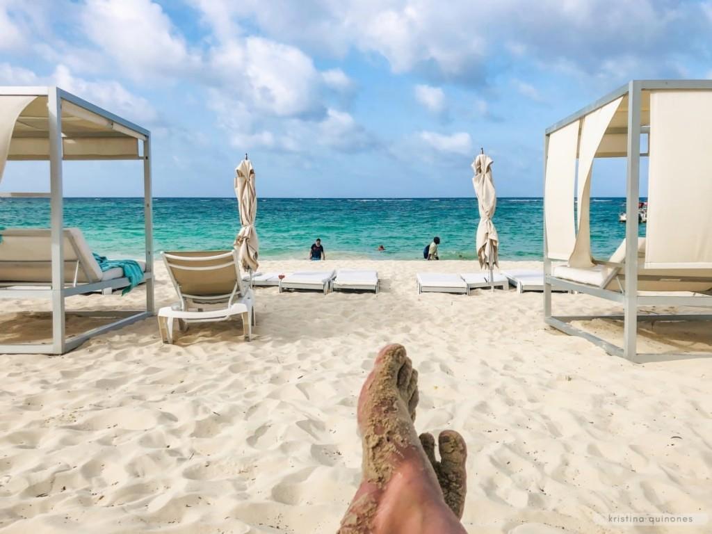 Star Prestige beach area at the Iberostar Dominicana in the Dominican Republic