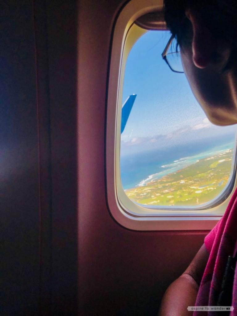 Departing Punta Cana