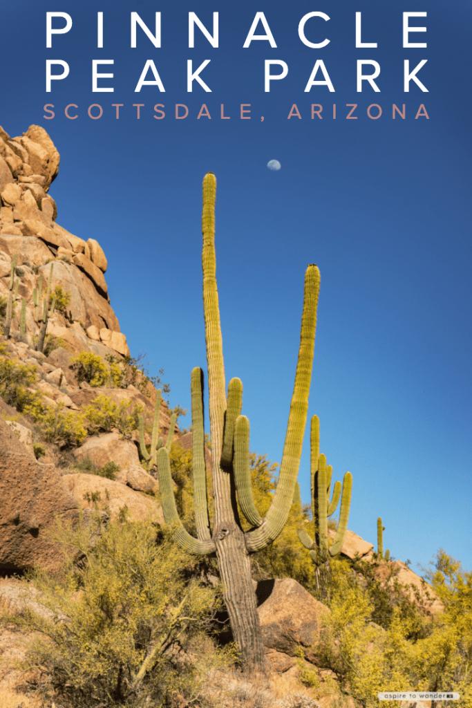 Pinnacle Peak Park in Scottsdale, Arizona