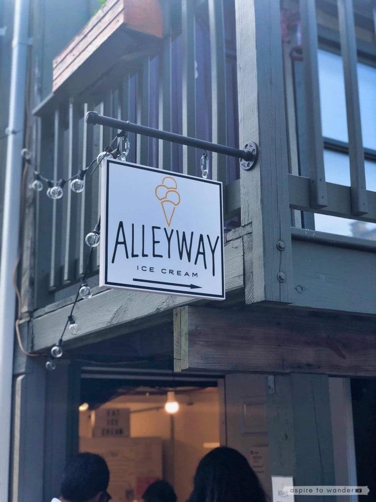 Alleyway Ice Cream   Saugerties   New York